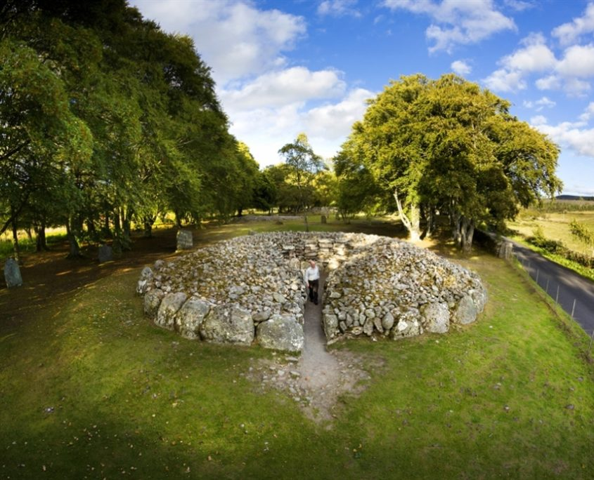 logie steading clava cairns